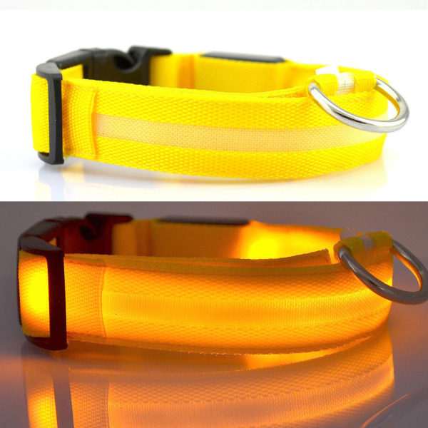 Pet Safety Collar YELLOW