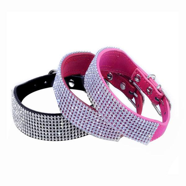 Rhinestone Pet Collar