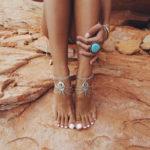 Turquoise Ankle Bracelet
