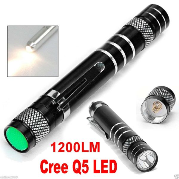 1200LM Cree Tactical Flashlight