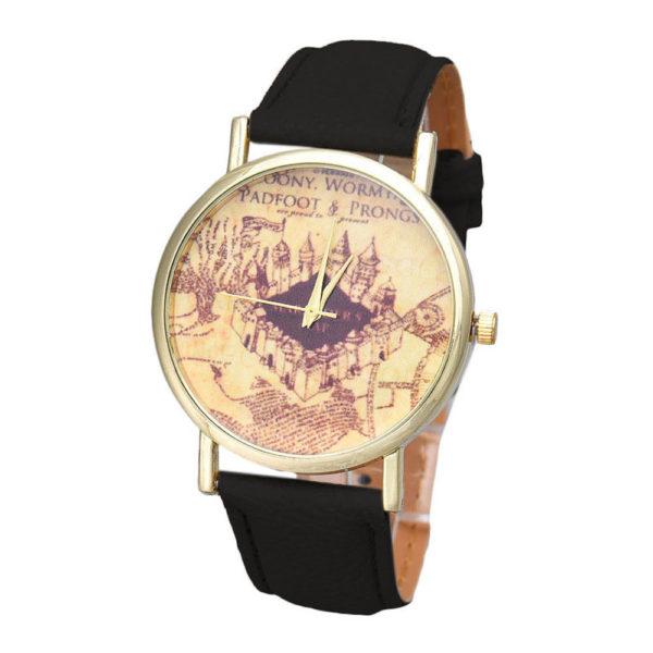 Castle Pattern Quartz Watch