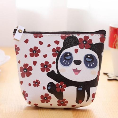 Cute Panda Clutch Purse
