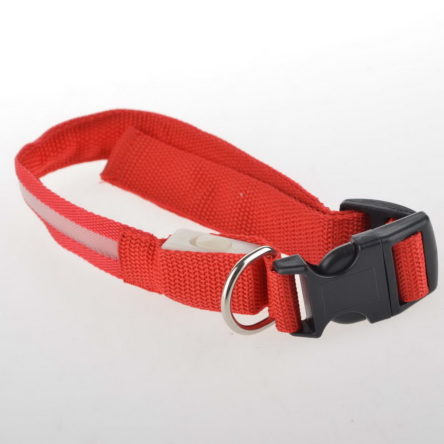 LED Safety Collar – RED M