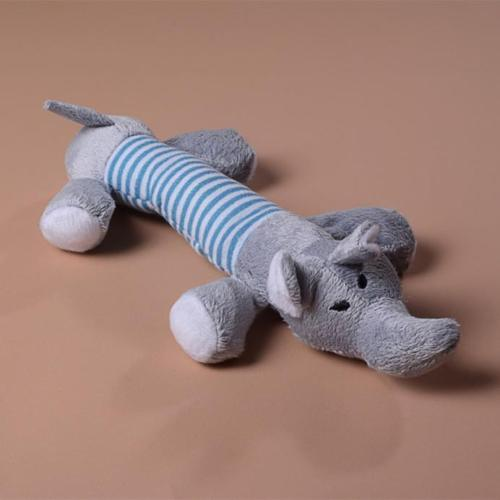 Squeaky Plush Elephant 00