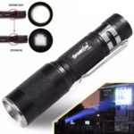 4000LM Zoomable CREE LED Flashlight