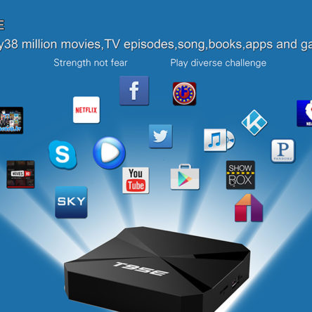 T95E Smart TV Box