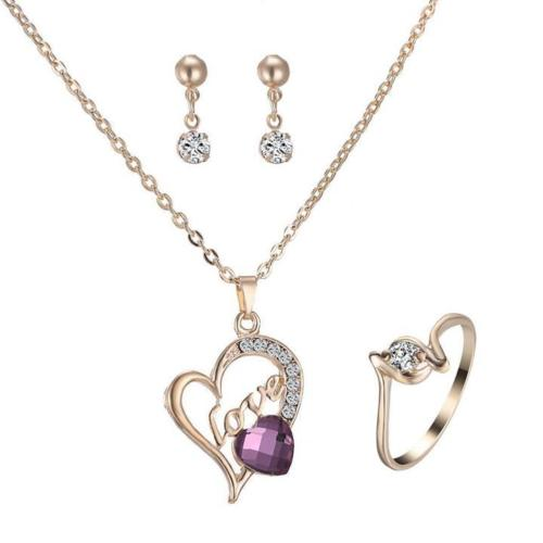 Heart & Love Jewelry Set
