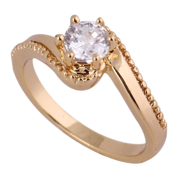 Rhinestone Finger Ring
