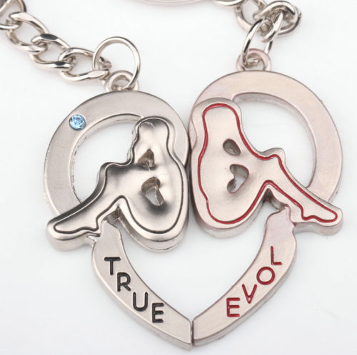 TRUE LOVE Lovers Keychains