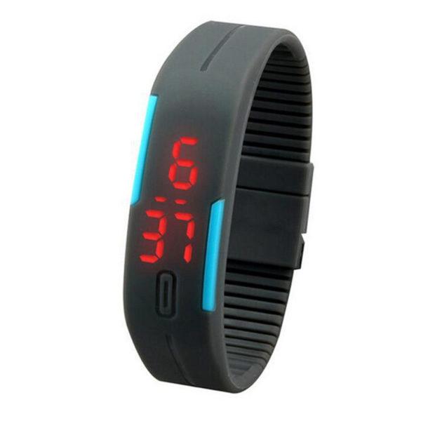 Ultra Thin Silicone Sports Watch