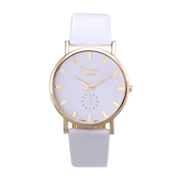 White Geneva Watch