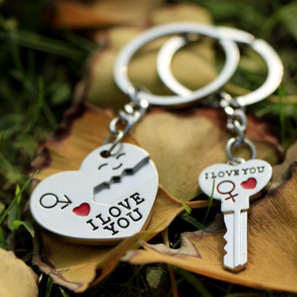 Key to My Heart Keychains