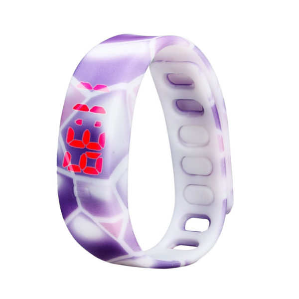 Sports LED Rubber Watch